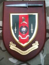Royal Marines Commando Training Centre with Pewter Model Military Wall Plaque