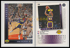 NBA UPPER DECK 1993/94 - James Worthy # 150 - Lakers - Ita/Eng - MINT