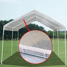 10 X 12 Clear 12mil Valance Replacement Top Cover Canopy Tarp For 10 X 10 Frame
