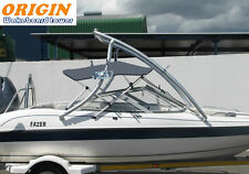 Origin Advancer Wakeboard Tower Plus 3 Bow SS Bimini Top Grey Canopy