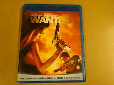 BLU-RAY / WANTED ( JAMES McAVOY, MORGAN FREEMAN, ANGELINA JOLIE )