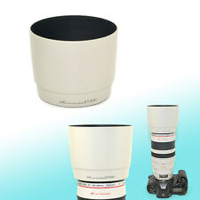 White ET-83C Lens Hood Shade for Canon EF 100-400mm f/4.5-5.6L IS USM 77mm JJC