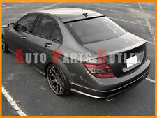 #792 Silver M-BENZ W204 C300 C350 Sedan B-Type Trunk & OE Roof Spoiler Lip 08-14