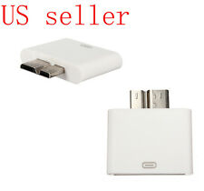 Dock 30 Pin iPhone iPod Female To Micro USB 3.0 Male Adapter connector adaptor