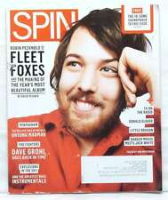 SPIN MAGAZINE FLEET FOXES ROBIN PECKNOLD DAVE GROHL FOO FIGHTERS MAY 2011 R