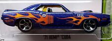 Hot Wheels 2015 HW Workshop '71 Hemi Cuda 1971 Plymouth Barracuda Mopar 1:64