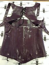 R1633 Rubber Latex  CORSET Westward Bound 10 UK *Shown* NEW COLLECTION £325