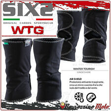 SIXS SIX2 WTG GINOCCHIERE WINTER TOURISM ANTIVENTO IDROREPELLENTI ISOLANTI MOTO