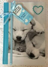 LITTLE FRIENDS CUTE PUPPY DESIGN ANY YEAR DIARY WITH DIAMANTE HEART DETAIL BNWT
