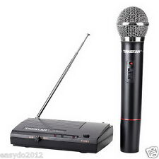 Pro VHF Simple to use Wireless Microphone System with Handheld Mic Mike