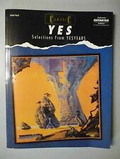 GUITAR TAB YES selections from YESYEARS Songbook of Sheet Music 9 songs 1991
