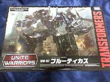 Transformers Takara Tomy Unite Warriors UW-07 Combaticons Combiner Bruticus F/S