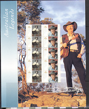 Australia 2001 Legends/Slim Dusty 10v Pres Pack n15470