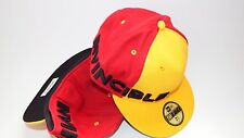 NEW ERA HAT CAP FITTED INVINCIBLE IRON MAN SIZE 7 3/4 YELLOW RED 59FIFTY