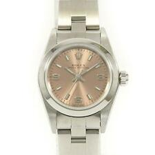 Authentic ROLEX 76080 Oyster Perpetual SS Automatic  #260-001-798-6946