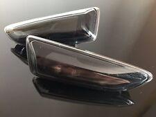 """Schwarze Klarglas Seitenblinker für den Opel Astra J+K, Zafira C """"Dark""""! Selten!"""
