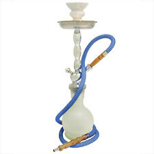 "18"" 1 Hose Junior Hookah with Case WHITE"