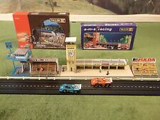 MINT NOS Faller Grandstand Media Tower Pit Row Kits for T Jet Slot Car Race Set