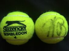 TENNIS: ANDREA PETKOVIC SIGNED SLAZENGER WIMBLEDON TENNIS BALL+COA *PROOF*