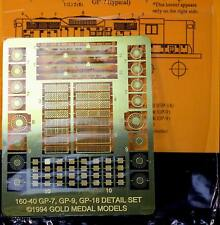 Gold Medal Models 160-40 – GP-7, GP-9, GP-18 Detail Sets- N Scale