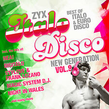 Italo CD ZYX Italo Disco New Generation Vol.9 von Various Artists 2CDs