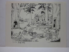 Pogo Town  by Walt Kelly Signed by Selby Kelly  Signed + Numb Print 1147/1500