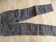 GANG coole braun eingefärbte 7/8 Jeans m. Seitentaschen Gr. 28? TOP  VS415