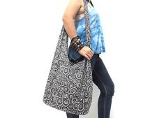 COOL SHOULDER BAG CROSSBODY HOBO YAAM HIPPIE SLING HMONG LADY UNISEX THAI SPIRAL