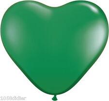 10 Ballons COEUR Vert Décoration de Salle Mariage Baptême Fête