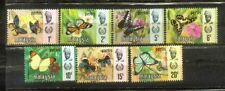 1971 Malaya Malaysia Perlis Butterflies Complete set  MH