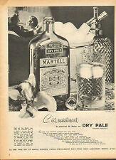 Publicité  Advertising  --   DRY PALE MARTELL