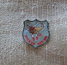 """VIETNAM WAR PATCH-59TH HELICOPTER CO"""" PICKUP AND GO"""" PATCH"""