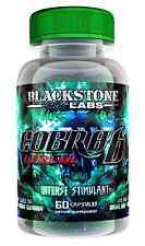 Blackstone Labs COBRA 6P EXTREME 60caps Super Intense Fat Burning Stimulant!