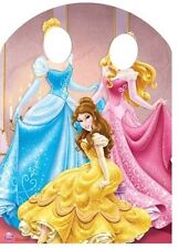 Disney Princess Stand-in Belle, Aurora and Cinderella Cardboard Cutout / Standee