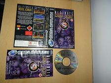ULTIMATE MORTAL KOMBAT 3 Sega Saturn - UK PAL - FREE UK  POST