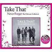 TAKE THAT - THE ULTIMATE COLLECTION - GREATEST HITS CD - BACK FOR GOOD / BABE +