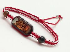 St. Michael the Archangel powerful bracelets for protection red & white thread