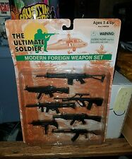 "The Ultimate Soldier US Modern Foreign Weapon Set Brand New! 12"" AK-47"