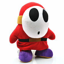 "10"" Super Mario Bros  Shy Guy Soft Plush Toy Doll^MX649"