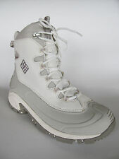 Columbia Bugaboot Womens Winter White Waterproof Boots, Shoes, Size 9 Excellent