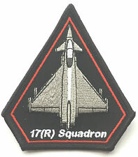 RAF No.17 Typhoon (R) Squadrone Royal Air Force Militare Patch Ricamato