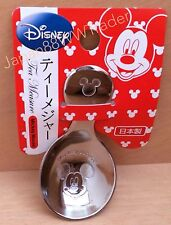 DISNEY *Mickey Mouse Collections TEA MEASURE SPOON STAINLESS STEEL Made in JAPAN