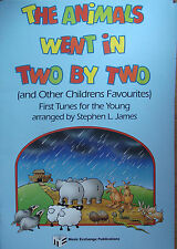 The Animals Went In Two By Two Sheet Piano Book Childrens Favourite Tunes James