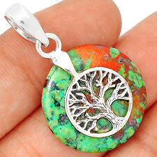 Tree Of Life - Sonora Sunrise 925 Sterling Silver Pendant Jewelry SP197309
