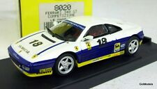 BANG 1/43 - 9318 FERRARI 348 COMPETIZIONE CASTELLANETA #18 DIE-CAST MODEL CAR