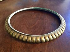 Antique Gilt Bronze Mount Ring for Vase or Lamp 19th century French Part Base