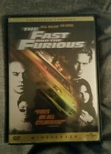 Brand New DVD The Fast and the Furious Paul Walker Vin Diesel Collector's Ed