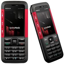 Nokia 5310 Xpress Music Mobile Phone Red Colour With Box.