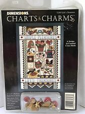 Charts & Charms Life's Treasures Counted Cross Stitch Dimension 72307 NIP