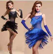 Adult Women's Competition Latin Dance Dress Rumba Samba Cha Cha Dance Ballroom